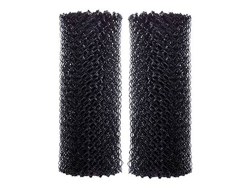 Black Chain Link Fence Ideal For Residential And