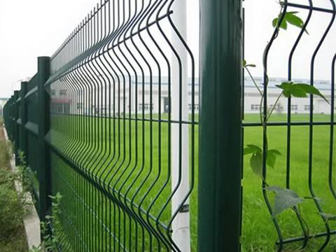 PVC Welded Perimeter Fence for Residential, Commercial Usages